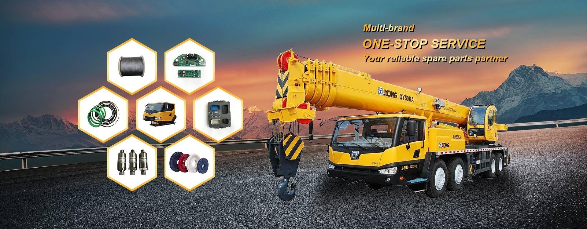 Parts supplier | XCMG parts | Shantui parts | Zoomlion parts